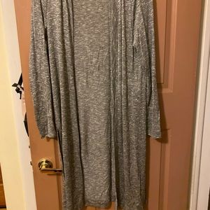 Mossimo Supply Co. Sweaters - Marled knit longline cardigan knee length